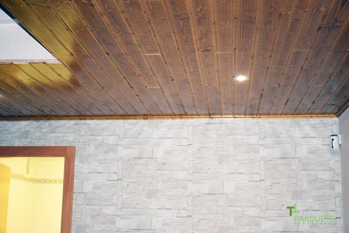 Parquets Tropicales techo de madera
