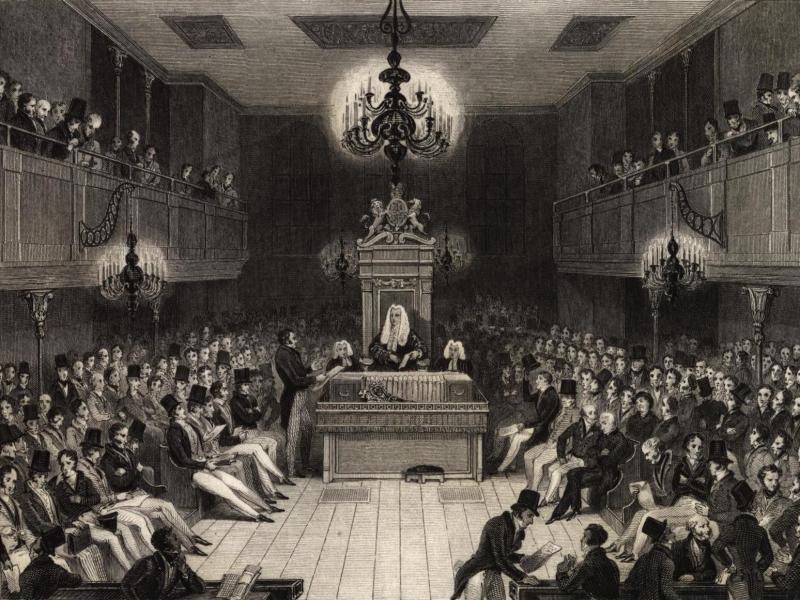 Cámara de los Comunes, 1834