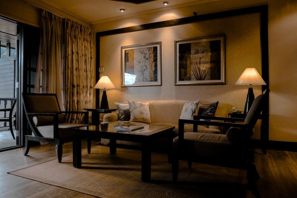 Combinar parquet y muebles