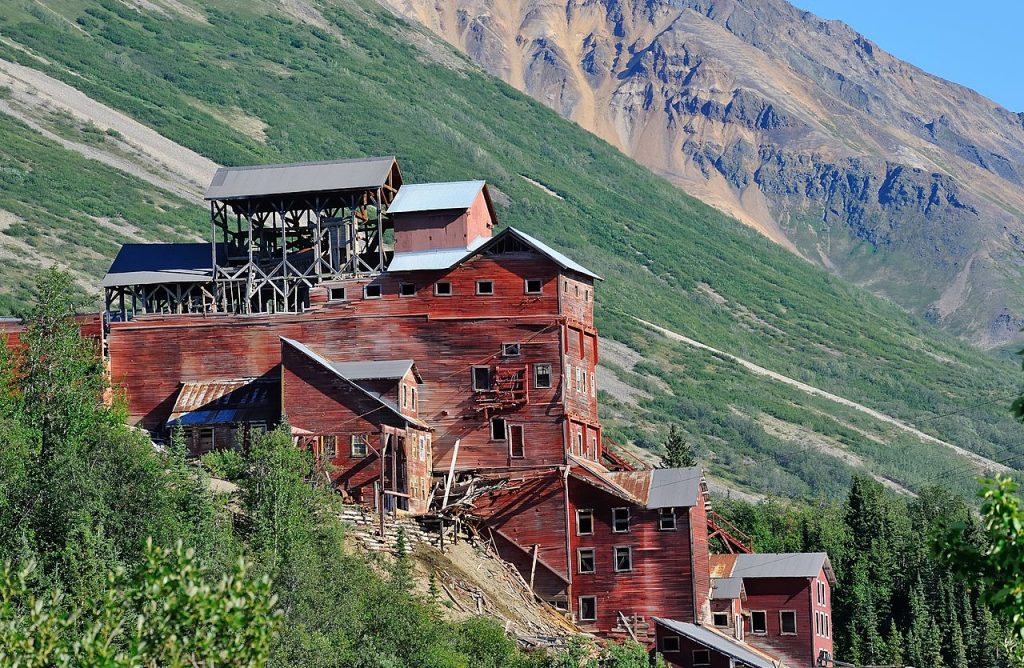 Minas Kennecott - Alaska - Parquets Tropicales