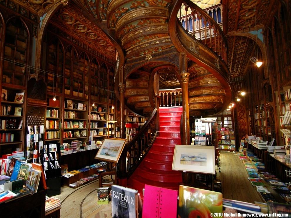 Librería Lello e Irmao - Parquets Tropicales