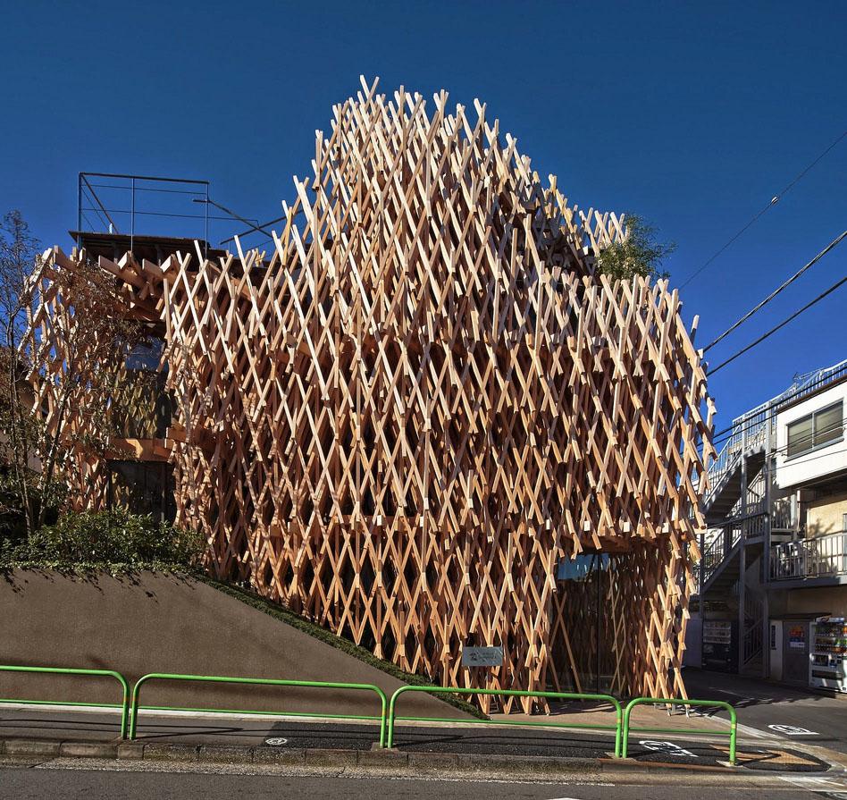 Edificio de Sunny Hills, Japón - Parquets Tropicales