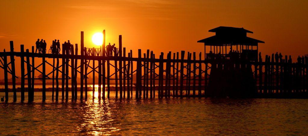 Puente de U Bein en Birmania - Parquets Tropicales