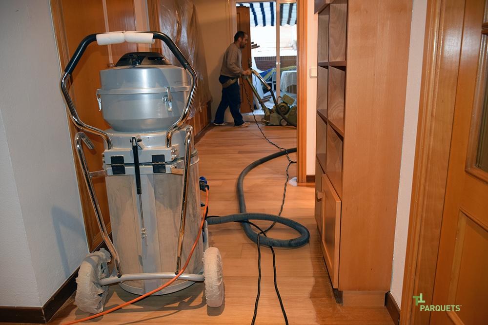 C mo restauramos tu parquet instalador de parquets valencia - Parquets tropicales ...