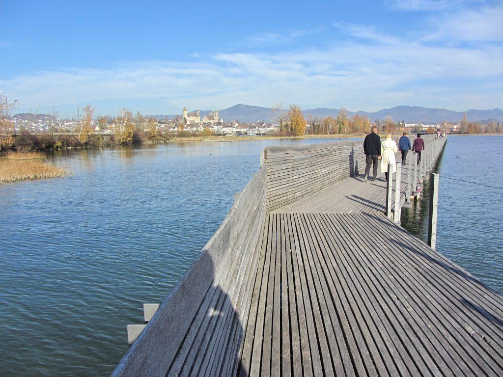 Puente Holzbrücke Rapperswil-Hurden - Parquets Tropicales