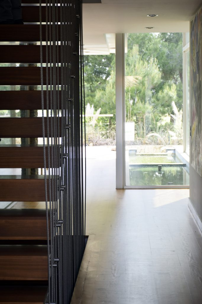Parquets Tropicales - Escalera de madera