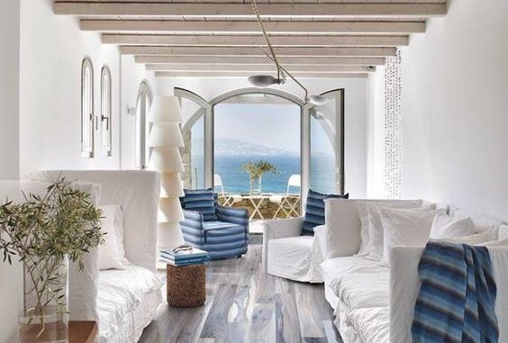 Casa junto al mar - Suelo de madera - Parquets Tropicales