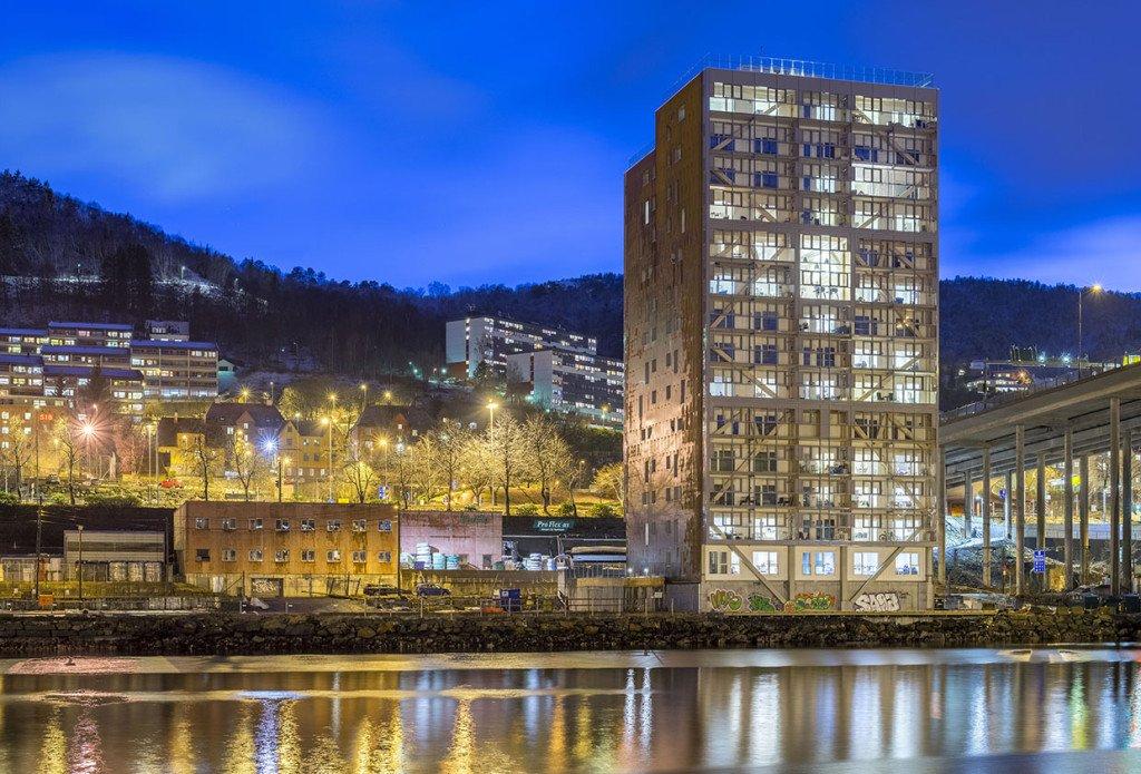El edificio de madera más grande del mundo
