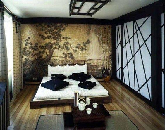 Dormitorio japonés - Parquets Tropicales