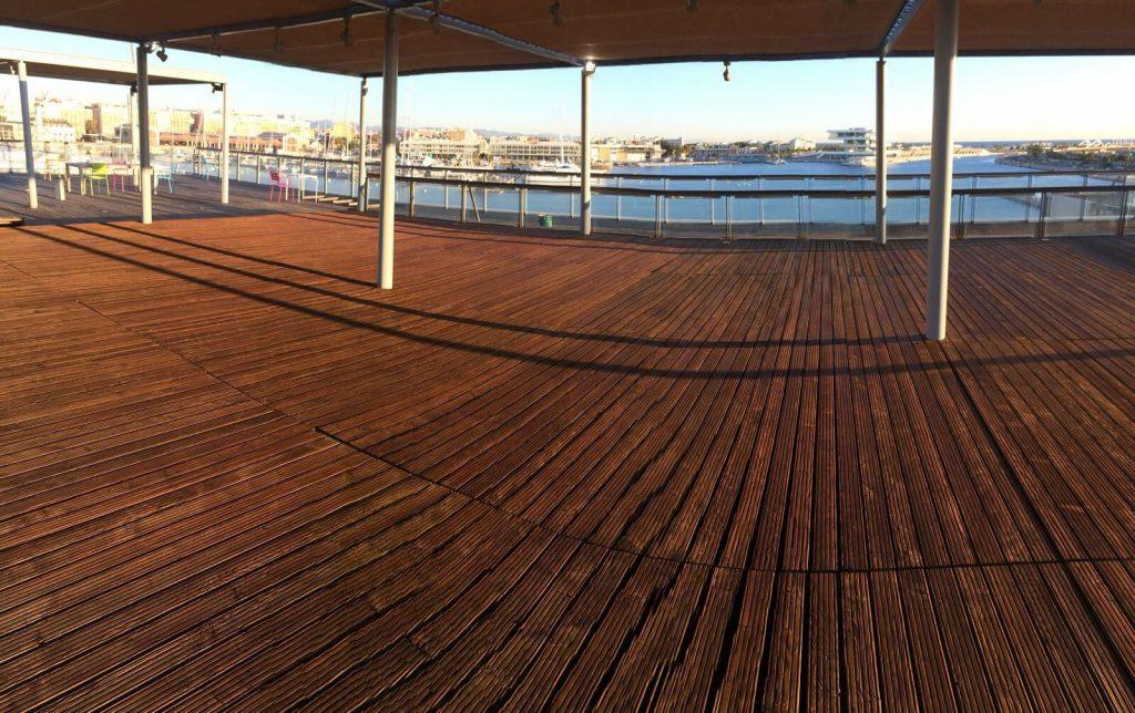 Proyecto de restauración en la Marina de Valencia