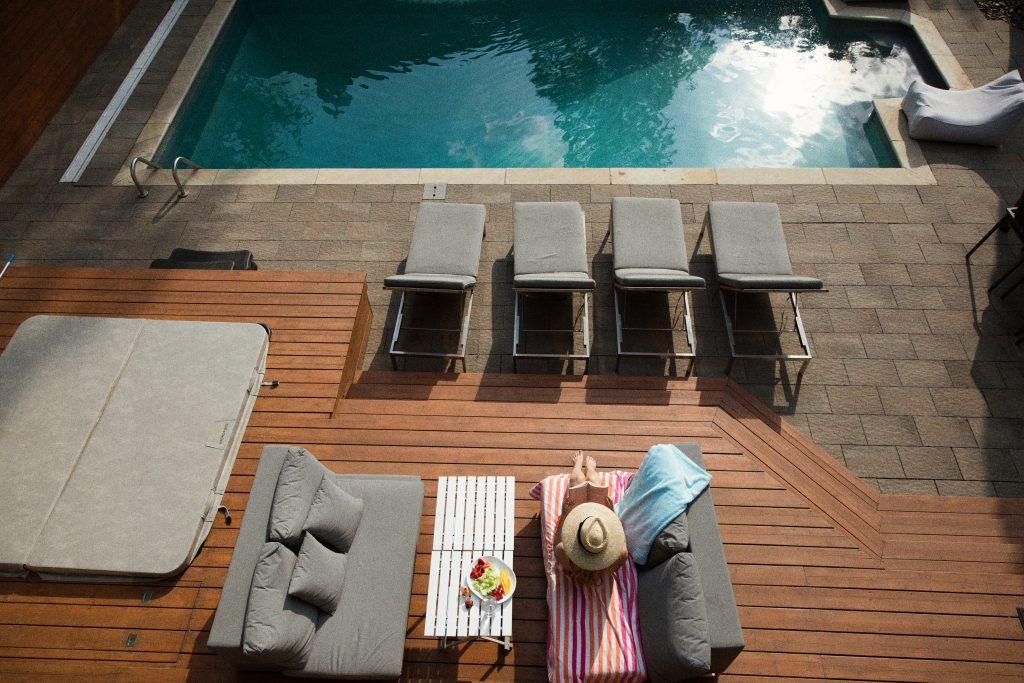 Un parquet para tu terraza