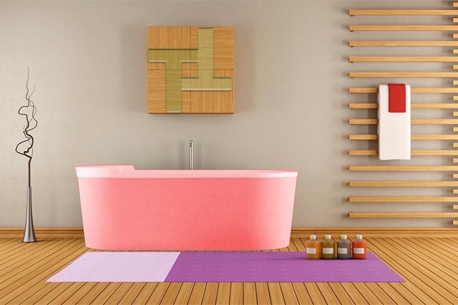 ¿Qué suelo de madera es mejor para el baño?